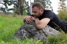 Конечно же, мы полежали и посидели на этих камнях. Этот камень лечит сердце.