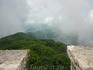 Башня Ахун высотой 30 метров.В этот день облака оказались под нами.