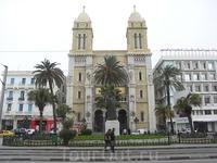 г. Тунис католический собор 2