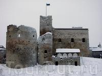 Вид на крепость.