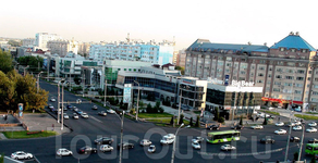 Деловой район на станции метро «Oybek»