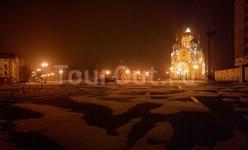 Панорама Соборной площади