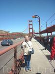 """Красный мост""""Золотые ворота""""-одна  из главных достопримечательностей!"""