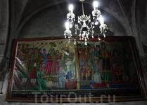 В коптской церкви.