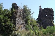 Развалины Хустского замка. Хуст