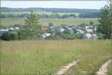 дачные посёлки окружают город
