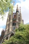 Барселона Sagrada Familia Есть экскурсии в Sagrada Familia,но мы решили туда не ходить,т.к.там пока ничего интересного нет-там стройка.