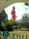 Самая большая скульптура бога обезъян Ханумана в Дели.