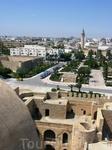 Панорама города из крепости....