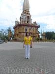Я в самом крупном храмовом комплексе Пхукета