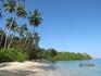 А на этот остров мы плавали на каяке с пляжа Kai Bay