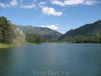 Чемальское водохранилище