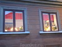 Шведы не задёргивают штор
