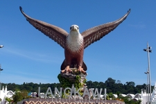 Символ  Лангкави.   Игл  парк  в г. Куах