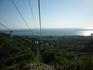 Вид на Геленджикскую бухту и сам город с высоты канатной дороги.Очень приятный аттракцион.