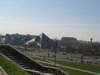 И даже пирамиды в Казани есть!