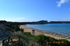 Самый длинный и красивый пляж Геракас