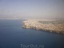 Вид из самолета на Турцию