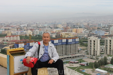 Вид на Улан-Батор с монумента погибшим воинам Красной Армии
