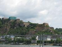 Рейн, крепость Эренбрайтштайн
