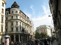 Улица Кнеза Михаила в Белграде.
