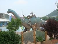 Парк рядом с океанариумом