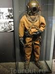 Вот в таких костюмах, более полувека назад, водолазы доставали корабль Васа со дна залива.