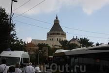 Назарет. Католический храм