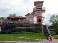 Оулу. Бывашая обсерватория морской школы Оулу (1875). С 1912г. работает в качестве летнего кафе.