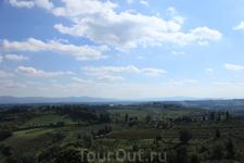 Кьянти - виноградники, оливковые рощи...