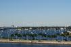 вид с нашего балкона на корабле (Майами)