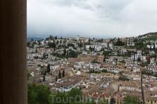 Вид на старую Гранаду. Красота!