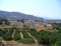По пути на южное побережье,Критские Помпеи