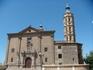 Наклоненная башня по типу Пизанской в Сарагосе