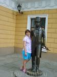 Под ручку с Пушкиным.