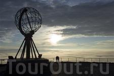 Мыс Нордкап - самая крайняя точка континентальной Европы, губерния Финнмарк. Foto: Johan Wildhagen/Innovation Norway
