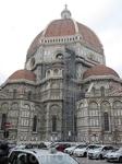 """Собор Санта Мария дель Фьоре (Дуомо). Работа по возведению купола началась в 1420 году. Брунеллески сконструировал купол (из положенного """"в елку"""" кирпича) ..."""