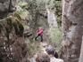 """Медовые водопады; """"Тёщины ребра"""" в красной куртке - наш гид Олеся"""