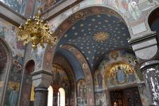 В одном из храмов Новоафонского монастыря