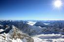 Цугшпитце и озеро Айбзее зимой