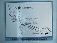 Водный путь из Вологды через Кубенское озеро на Север.
