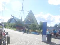 еще один музей, &quotФрам&quot - это легендарный полярный корабль, без которого ни Амундсен, ни Нансен не смогли бы исследовать полюс