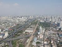 Вид на город с 84 этажа