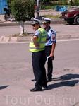 А так  выглядят албанские полицаи