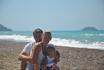 на берегу Эгейского моря