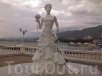 вот он - символ города - Белая невеста!