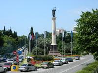 Памятник Михаилу Архангелу - покровителю Сочи