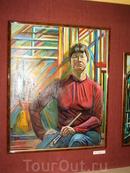 Выставка картин скандинавской художницы Нуйя Т.Т. в краеведческом музее г.Грязовец.