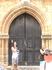 Улица Рыцарей. Двери одного из представительств