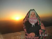 Гора Моисея (Синай); фазы восхода. Мы счастливы!